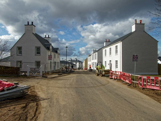 Tornagrain New Town
