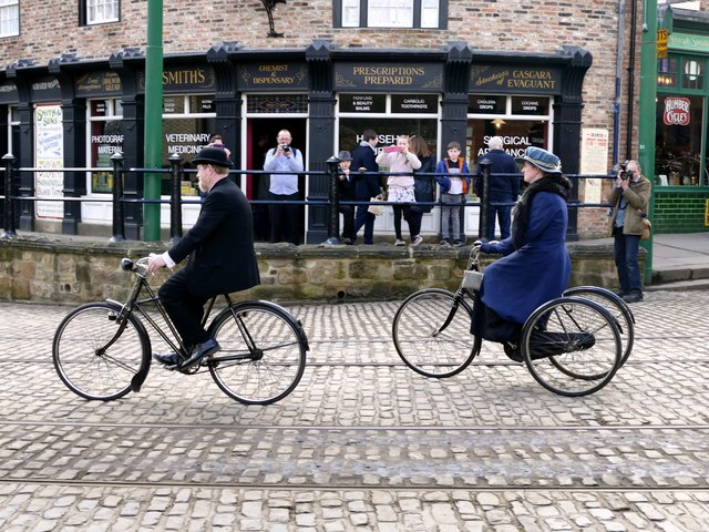 Restored cycles in the Beamish Collection