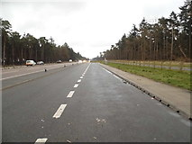 TL7977 : Parking area on the A11, Elveden by David Howard