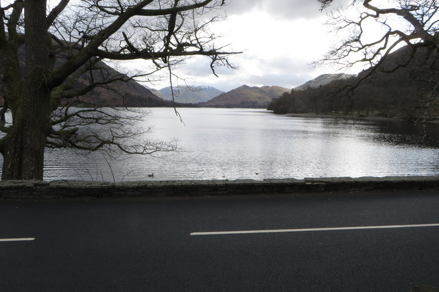 A592 right on the lake edge