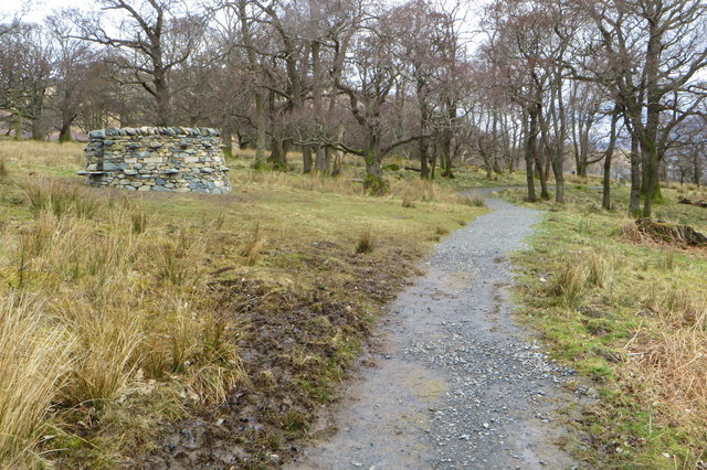 Treefold:north by the Ullswater Way