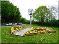 SJ7487 : Dunham Massey Village Sign by Eirian Evans