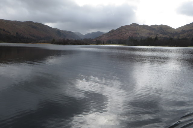Southern shore of Ullswater
