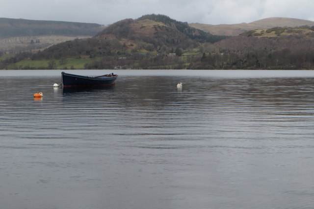 Boat in Howtown Bay