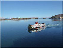 NM8529 : Lismore Ferry arriving at Oban by Basher Eyre