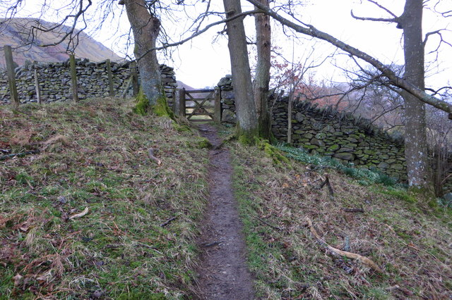Footpath to Swarthbeck