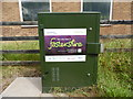 SO6015 : BT Green Cabinet outside Lydbrook Telephone Exchange by David Hillas