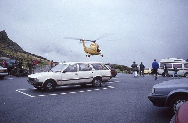 RAF RAF Westland Wessex helicopter taking off