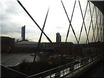 SJ8297 : View through the Irwell bridge by Stephen Craven