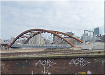 SJ8297 : The Irwell bridge from the south-west by Stephen Craven