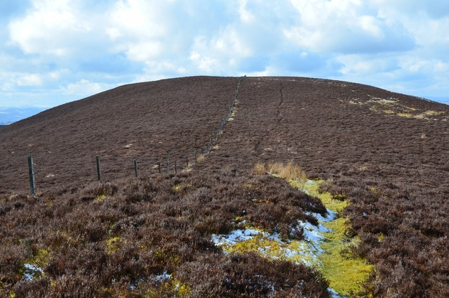 Heathery ridge, Black Mount