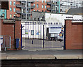 SJ8497 : Oxford Road station - season ticket holders' gate by Stephen Craven