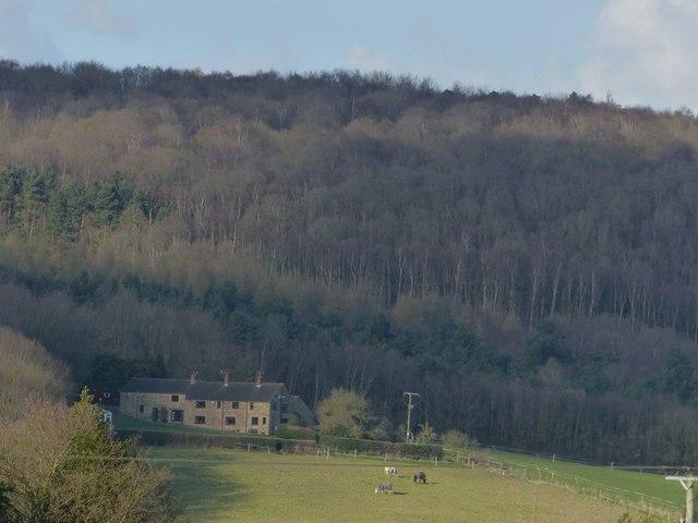 Monkwood Farm from Furnace Lane