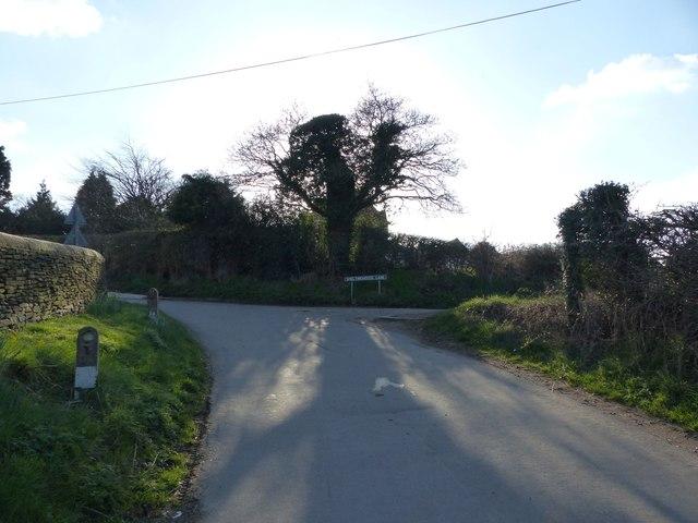Junction of Furnace Lane and Smeltinghouse Lane