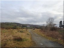 J1326 : Private farm road on the south side of the B8 (Newry Road) by Eric Jones