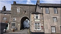 SD3778 : Archway in Cartmel by Steven Haslington
