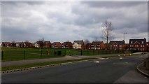 SP2663 : New Housing, Chase Meadow, Warwick by Stuart Shepherd