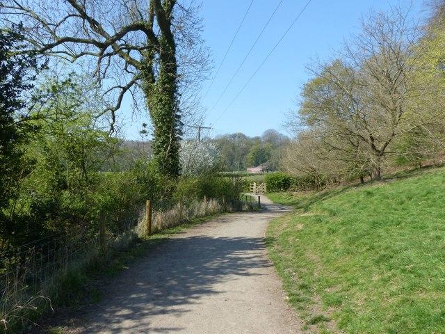 Path from Chadkirk Bridge