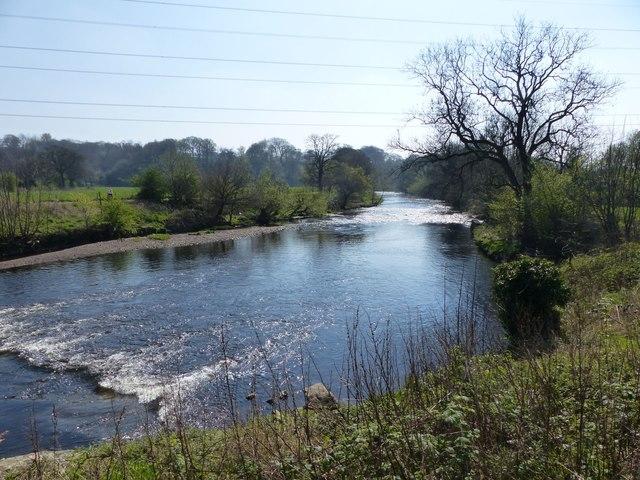 River Goyt from Chadkirk Bridge
