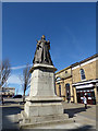 SD3317 : Queen Victoria statue, Nevill Street by Stephen Craven