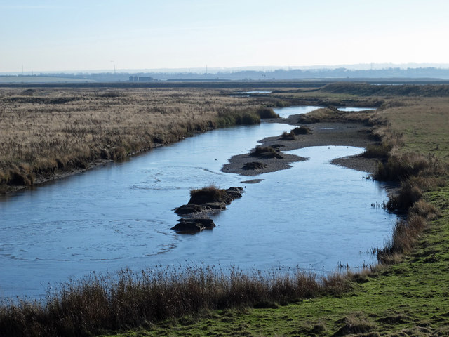 The northwestern part of Chetney Marshes