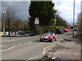 SD4411 : Sports car at Burscough Junction by Stephen Craven