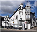 NO6995 : The Burnett Arms, Banchory by Bill Harrison
