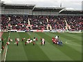 SK4292 : Just before kick off in The New York Stadium, Rotherham by Richard Humphrey