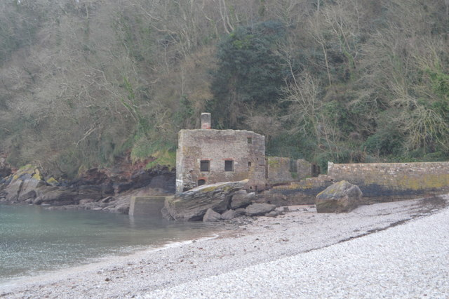Old Bath House, Elberry Cove