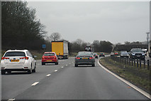 ST8180 : Wiltshire : M4 Motorway by Lewis Clarke