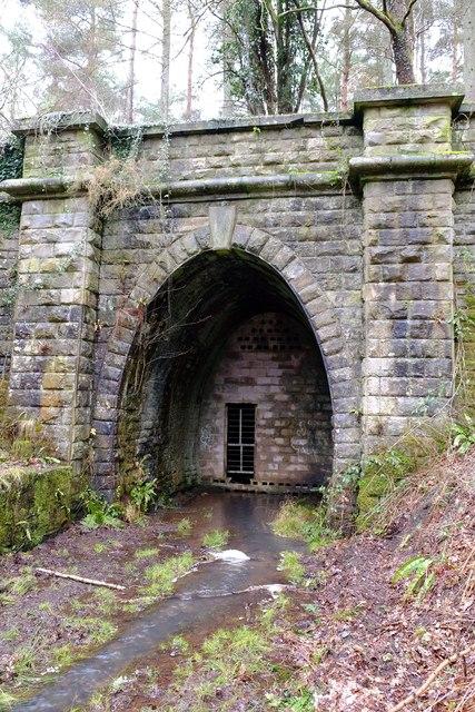 Mierystock tunnel: south portal detail