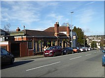 ST5777 : Post Office Tavern, Westbury Hill by Eirian Evans