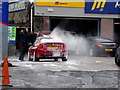 H4472 : Car wash, Modern Tyres, Omagh : Week 14