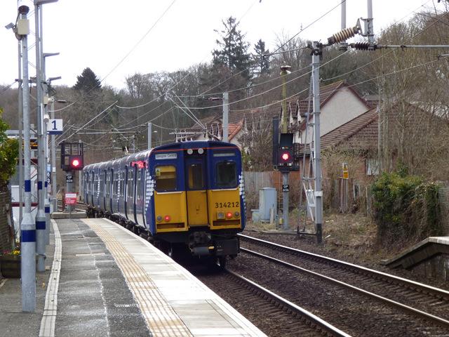 Langbank railway station