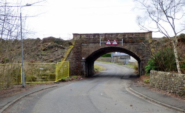 East Langbank railway arch