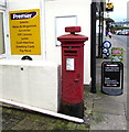 SX8960 : King George VI pillarbox outside Harbour Stores, Paignton  by Jaggery