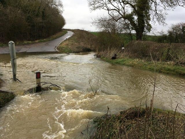 Ford on Welsh lane