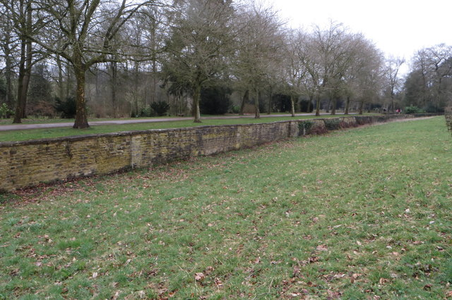 Boundary of Stowe Gardens