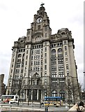 SJ3390 : Royal Liver Building by Jonathan Hutchins