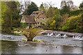 SO5174 : Horseshoe Weir by Ian Capper