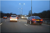 SU9778 : Slough : M4 Motorway by Lewis Clarke