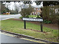 TM4977 : Nightingale Avenue sign by Adrian Cable