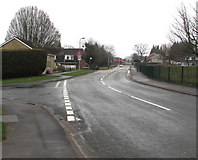 ST3091 : Almond Drive towards Malpas Road, Newport by Jaggery
