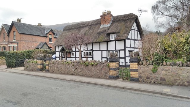 Thatched cottage on Court Road