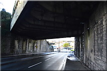 SX4755 : Railway Bridge, Saltash Rd by N Chadwick