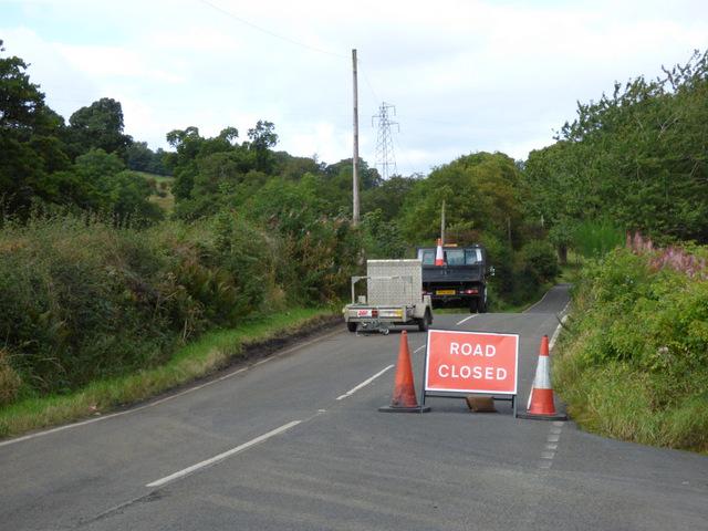 Road closure - Barochan Road