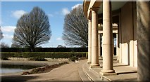 TG2007 : The southern edge of the rotunda in Eaton Park by Evelyn Simak