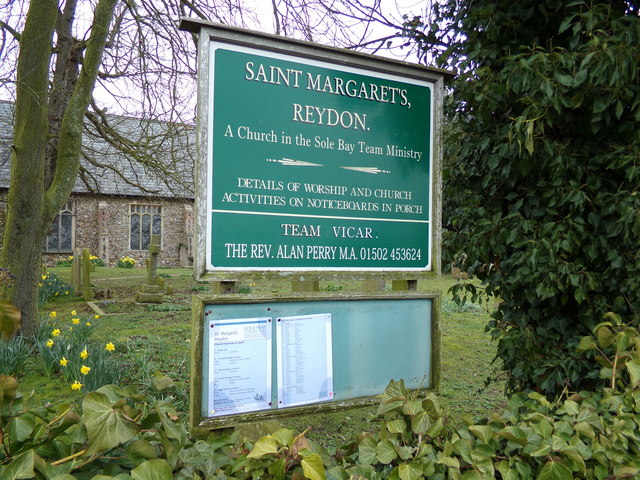 St.Margaret of Antioch Church Sign