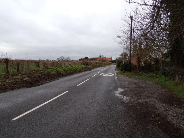 B1126 Wangford Road, Reydon