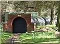 TG2007 : Eaton Park's miniature railway - the tunnel by Evelyn Simak